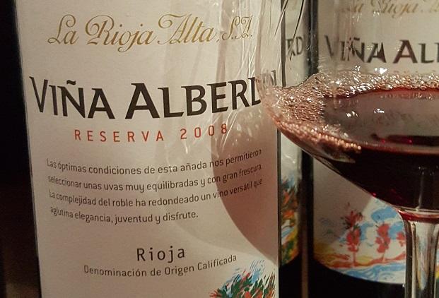 La Rioja Alta Viña Alberdi Riserva 2008