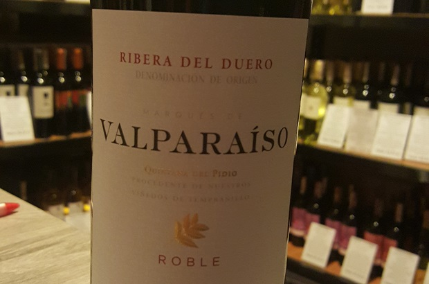 Marques de Valparaiso Roble 2014