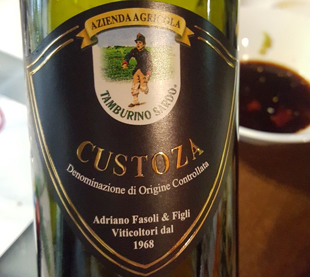 Wino do sushi -Azienda Agricola Tamburino Sardo Custoza 2014