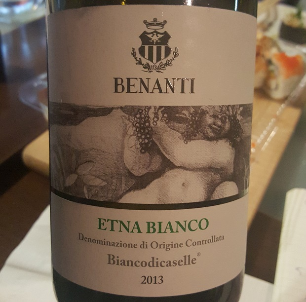 Wino do sushi - Benanti Etna Bianco di Caselle 2014
