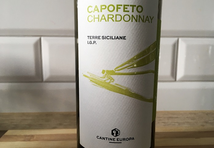 Wino na l ato_Cantine Europe Capofeto Chardonnay