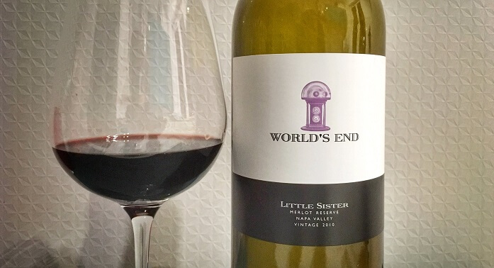Worlds End Little Sister Merlot