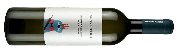 Mylonas Assyrtiko greckie wina