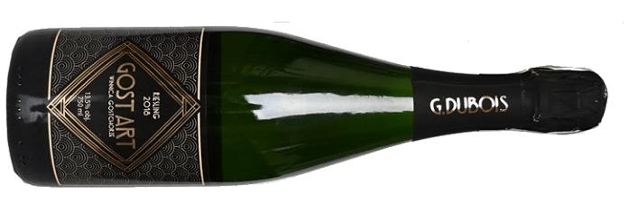 Winnica Gostchorze Gost Art Riesling 2018 polskie wina musujące