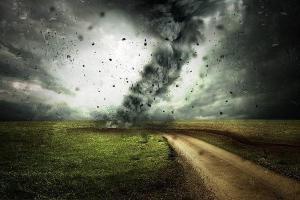 ураган и человек