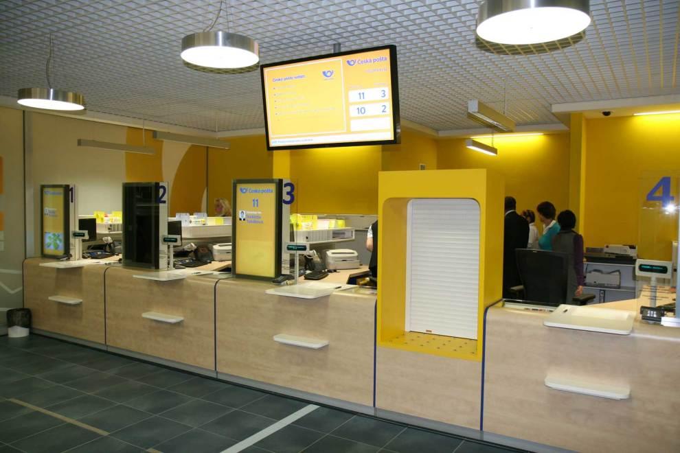 Pobočka pošty v OC Nisa, Liberec, foto: Česká pošta