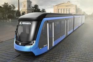 Vizualizace nové tramvaje ForCity Smart Artic pro Tampere. Foto: Škoda Transportation