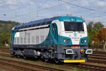 Lokomotiva 753.6 v nátěru pro Unipetrol Doprava. Foto: CZLOKO/Tomáš Dohnal, Lokomotivy.net