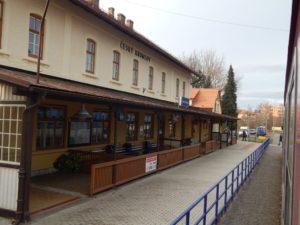 Nádraží Český Krumlov. Autor: Zdopravy.cz/Jan Šindelář