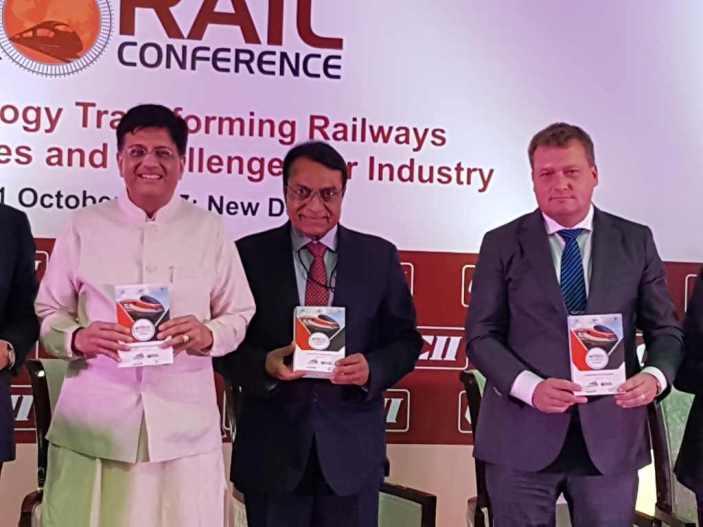 Veletrh a konference IREE 2017 v Dillí. Foto ČD
