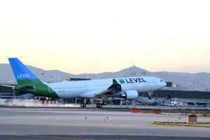 Airbus A330-200 společnosti Level v Barceloně. Foto: IAG