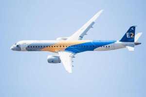 Poslední model Embraeru E2 pojme až 140 lidí. Foto: Embraer
