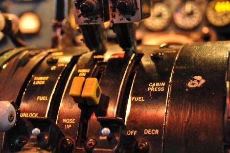 Ovládání palivových ventilů. Foto: realsim.cz