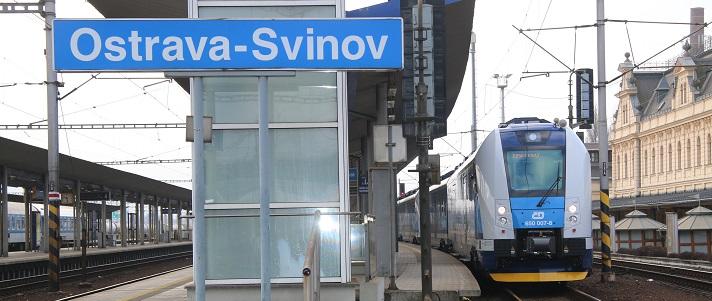 Nádraží Ostrava - Svinov. Foto: České dráhy