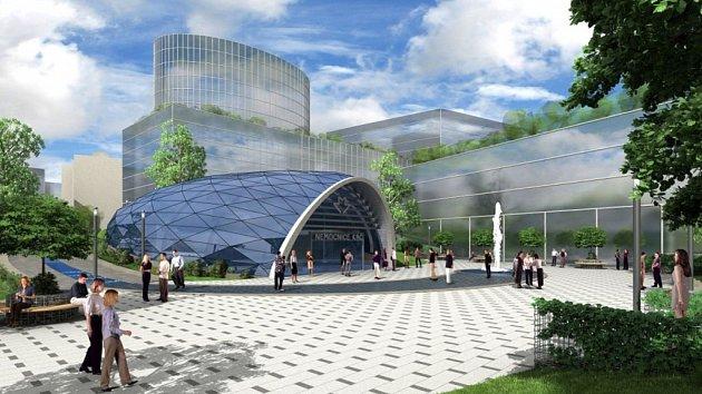 Vizualizace stanice metra D Nemocnice Krč. Foto: Metroprojekt
