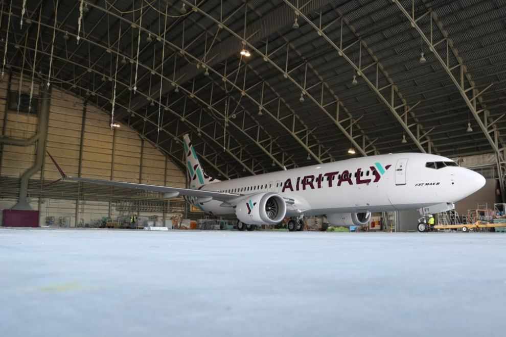 Boeing 737 MAX v barvách Air Italy. Foto: Air Italy