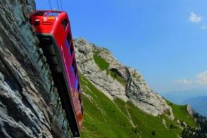 Ozubnicová dráha na Pilatus, zdroj: Switzerland Tourism