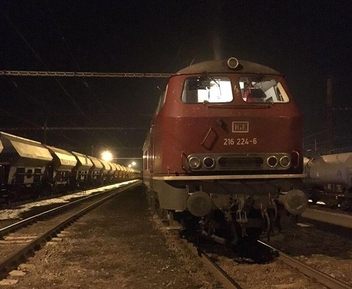 Sporná lokomotiva německé řady 216. Pramen: Drážní úřad