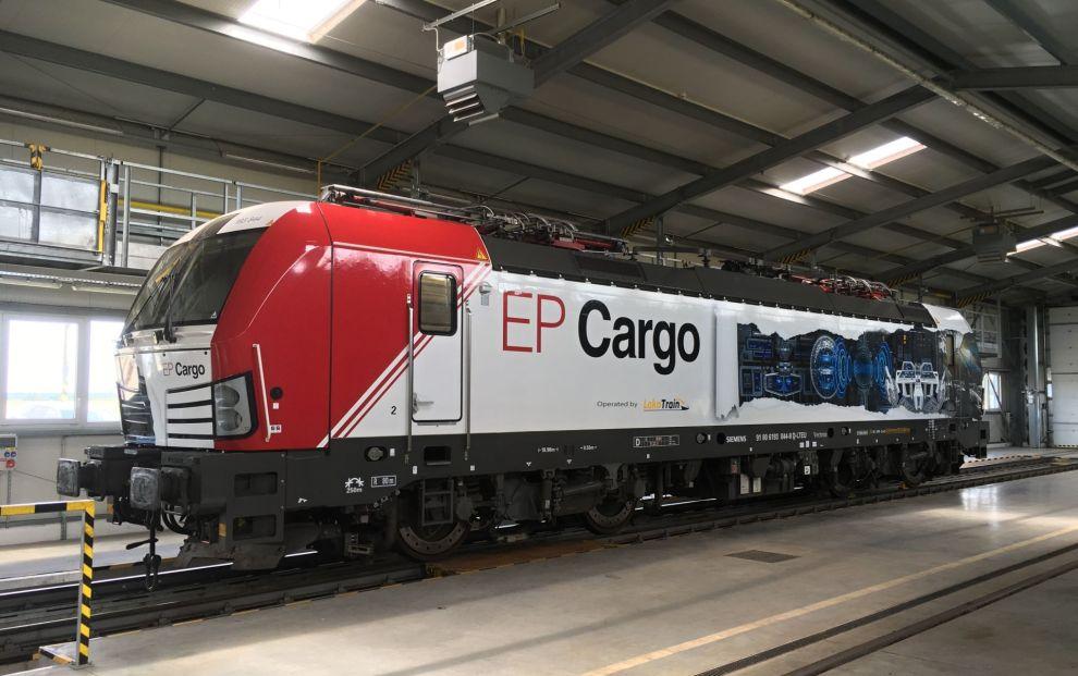 Siemens Vectron v barvách EP Cargo. zdroj: Siemens