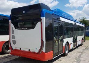 Nové autobusy Iveco Urbanway pro MHD Kladno. Autor: Arriva