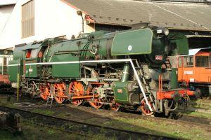Parní lokomotiva 464.202. Foto: NTM