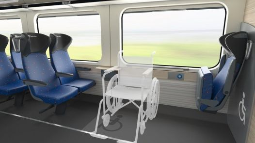 Vagon. Vizualizace dálkových vlaků ČD podle manuálu firmy. Autor: České dráhy