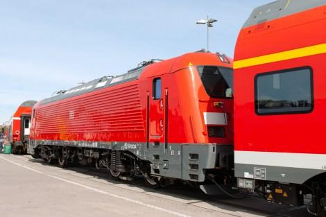 Innotrans 2018, lokomotiva Škoda 109E3, DB řada 102, zdroj: Zdopravy.cz/Josef Petrák