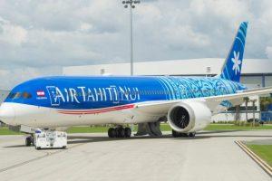 Jednou z dodávek Boeingu za září je dreamliner pro Air Tahiti Nui. Foto: Air Tahiti Nui