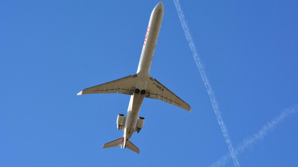 Letový provoz na Českem. Foto: Michal Holeček