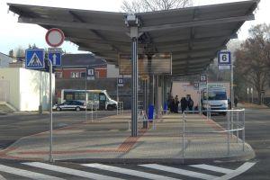 Autobusové nádraží v Trhových Svinech je po rekonstrukci. Autor: Zdopravy.cz/Jan Šindelář