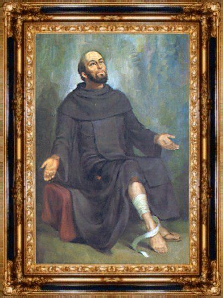 Св. Перегрин покровитель тих, хто страждає від раку