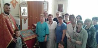 Виставлення Плащаниці у Київській міській Дитячій лікарні № 1