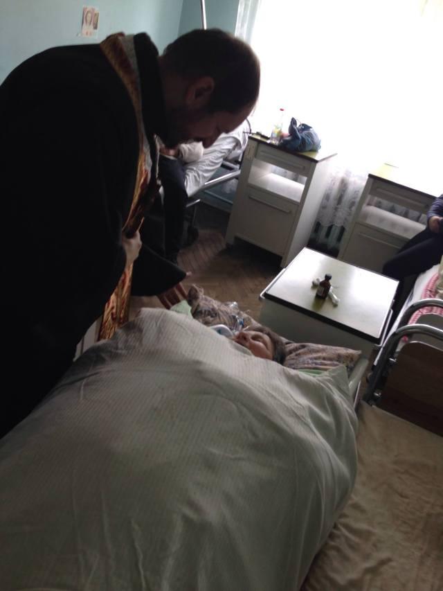 Плащаниця для хворих осіб Самбірської ЦРЛ