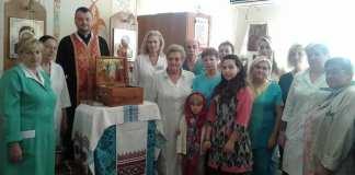Спільна молитва біля мощей у Дитячій лікарня м. Києва