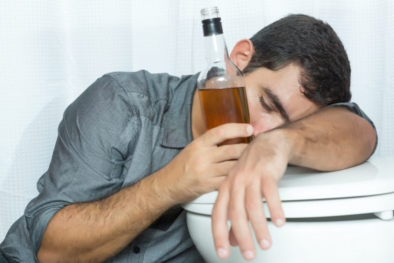 Keracunan etil alkohol
