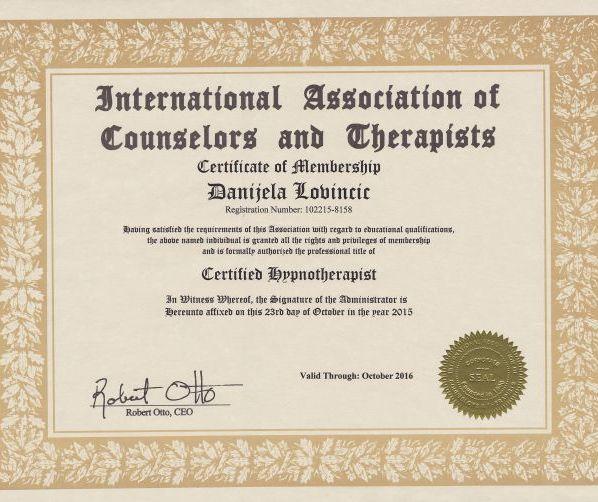 Certificate IACT 2015-16