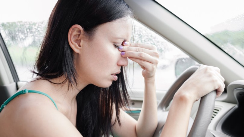 bolest voznje