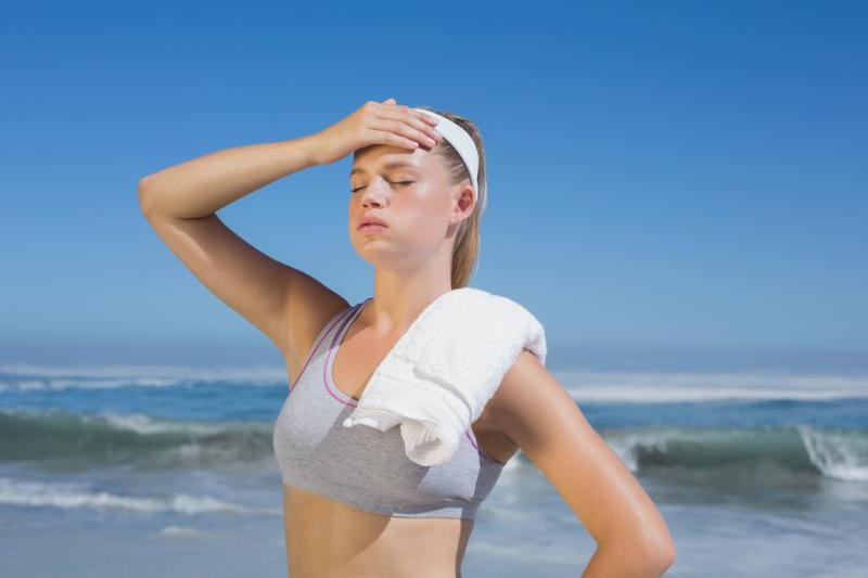 suncanica simptomi