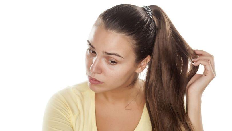 vezanje kose u rep