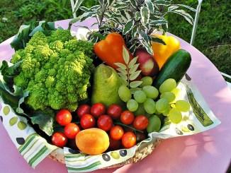 кошница с плодове и зеленчуци