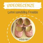 Recenze s videoukázkou – letní balerínky Froddo