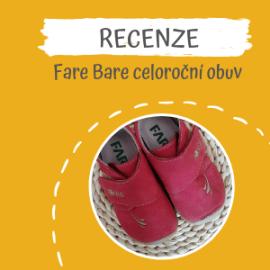 Recenze celoroční obuv Fare Bare