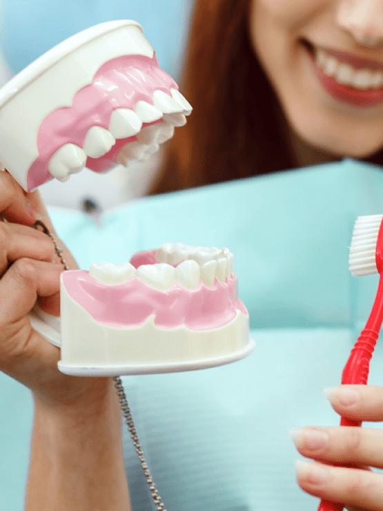 Starostlivosť o zubné náhrady