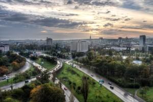 Morning at bulv. Bulgaria