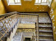 Училището е на три етажа