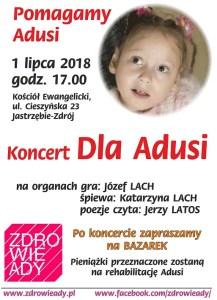 koncert charytatywny dla adusi jastrzebie zdroj