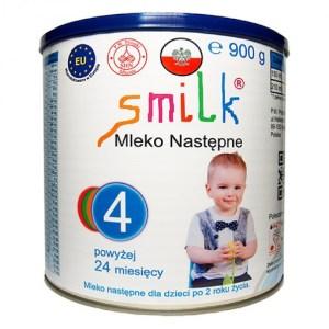 mleko następne dla dzieci SMILK 4 - 900g
