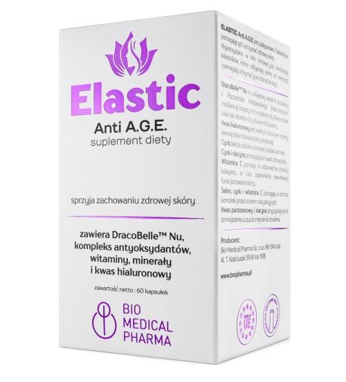 ELASTIC Anti A.G.E. – 60 kapsułek