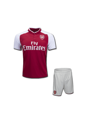 Kids-Arsenal-Football-Jersey-and-Shorts-Home-17-18-Season