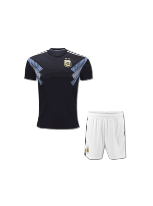 Kids-Argentina-Football-Jersey-and-Shorts-Away-2018-FIFA-World-CUP